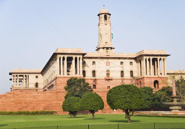 政府 建物 ニューデリー インド 市 ストックフォト © imagedb