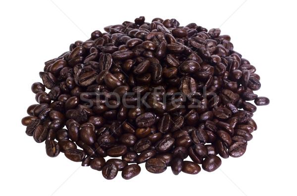 Kahve çekirdekleri grup nesneler fotoğrafçılık Stok fotoğraf © imagedb