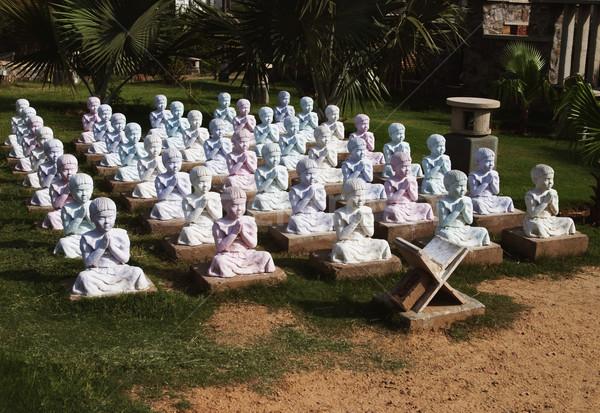 Öğrenciler eğitim bahçe beş yeni delhi Hindistan Stok fotoğraf © imagedb