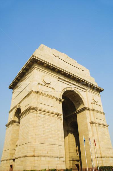 Vue guerre Inde porte new delhi Photo stock © imagedb