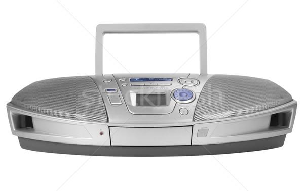 Stereo Spieler Musik Technologie Stock foto © imagedb
