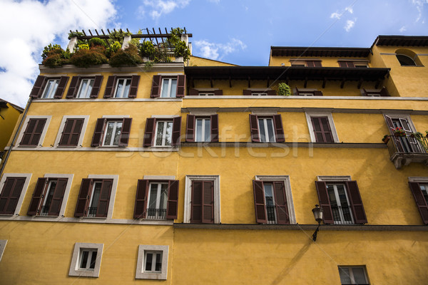 Low angle view of a residential building Stock photo © imagedb