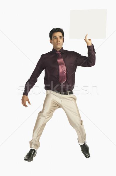 бизнесмен человека презентация галстук реклама Сток-фото © imagedb