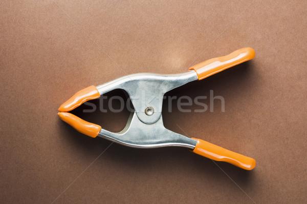 Pince à linge affaires bureau bâtiment homme Photo stock © imagedb