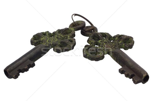 Tuşları ev anahtar güvenlik güvenli Stok fotoğraf © imagedb