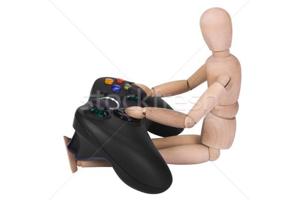 Rysunku gra wideo gry rozrywki elektryczne pomysły Zdjęcia stock © imagedb