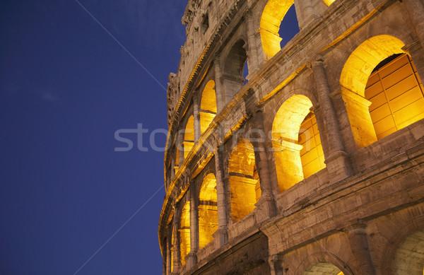 Licht Nacht Geschichte Bogen roma roman Stock foto © imagedb