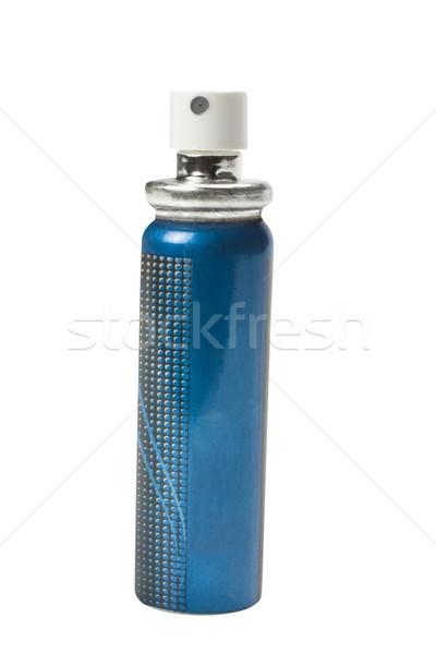 Aerossol lata azul recipiente ambiente Foto stock © imagedb