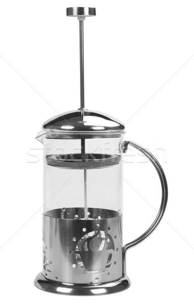 кофеварка контейнера фотографии крупным планом вертикальный Сток-фото © imagedb