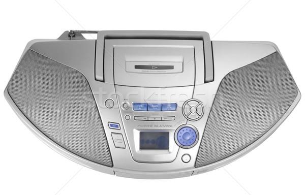 Stereo Spieler Musik Lautsprecher Stock foto © imagedb