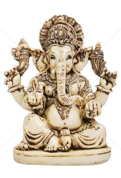 Beeldje kunst god standbeeld geloof Stockfoto © imagedb