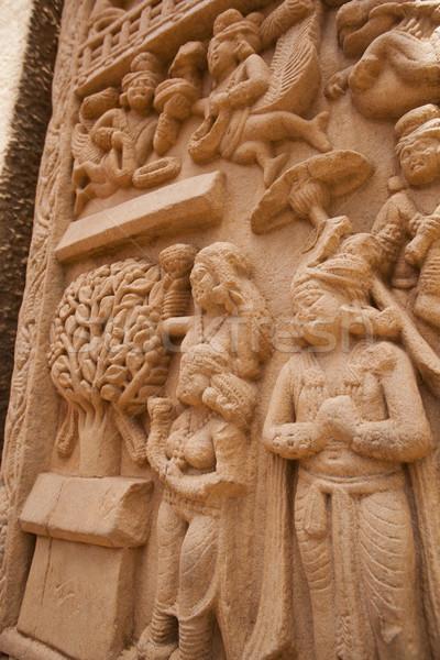 Detay eski sanat mimari tarih din Stok fotoğraf © imagedb