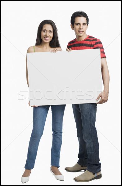 пару портрет связи улыбаясь счастье Сток-фото © imagedb