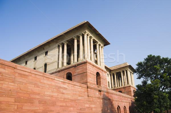 Vue gouvernement bâtiment new delhi Inde Photo stock © imagedb