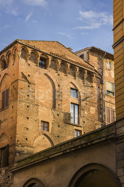 Low angle view of a historical building Stock photo © imagedb