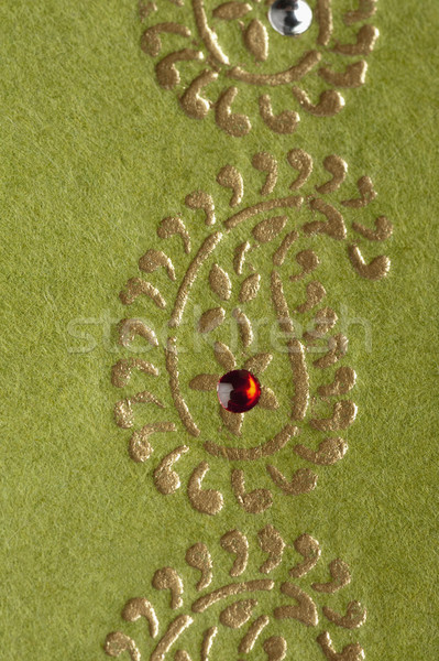 Nakış kumaş kâğıt sanat fotoğrafçılık Stok fotoğraf © imagedb