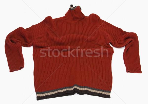 Primo piano maglione abbigliamento protezione fotografia lana Foto d'archivio © imagedb