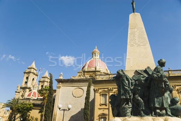 мнение Церкви дерево путешествия архитектура Сток-фото © imagedb