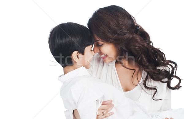 幸せ 母親 家族 愛 子 ストックフォト © imagedb