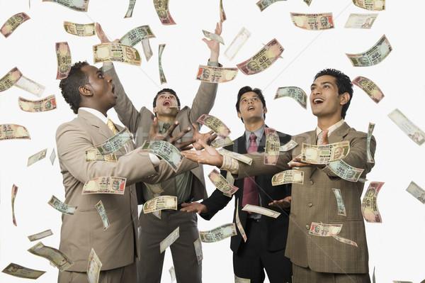 下がり 4 ビジネスマン ビジネス ビジネスマン ストックフォト © imagedb