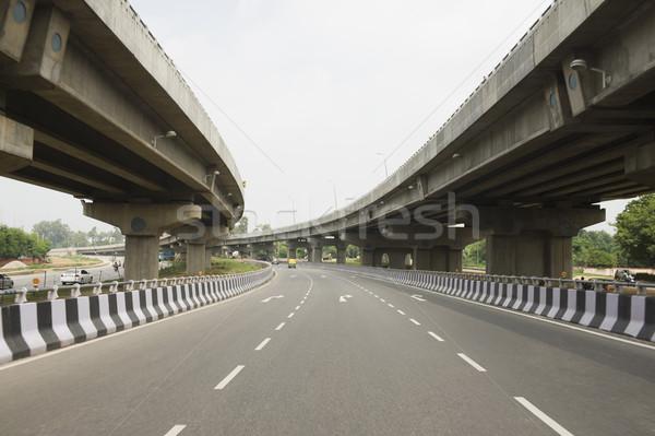 道路 道路 ニューデリー インド 空 アーキテクチャ ストックフォト © imagedb