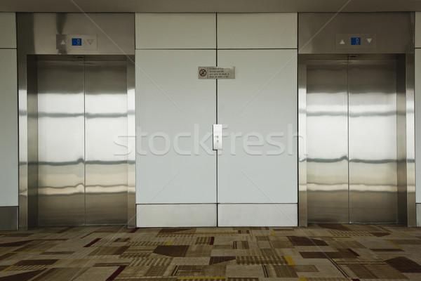 аэропорту полу архитектура лифта фотографии туризма Сток-фото © imagedb