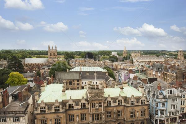 мнение зданий город Оксфорд Оксфордшир Сток-фото © imagedb