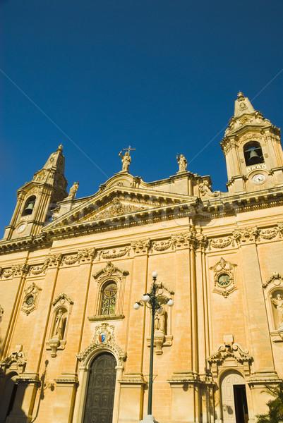 Kilise bayan zafer mavi seyahat Stok fotoğraf © imagedb