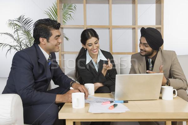Business riunione ufficio caffè Foto d'archivio © imagedb