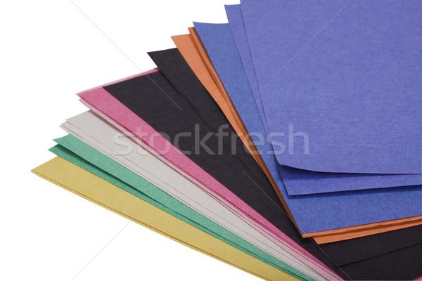 клей отмечает бумаги группа управления Сток-фото © imagedb