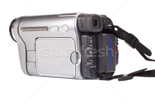 Ev video kamera modern yeni fotoğrafçılık Stok fotoğraf © imagedb