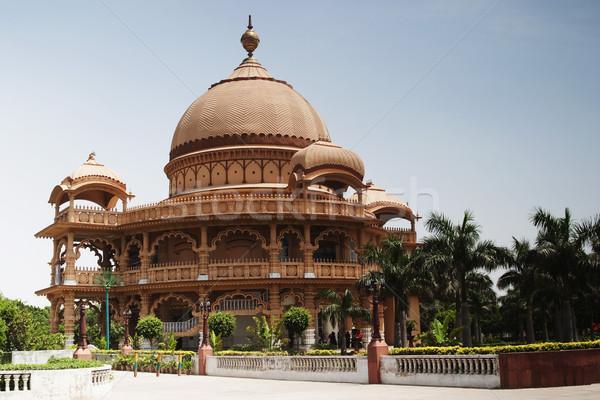 építészeti részletek templom Új-Delhi India építészet Stock fotó © imagedb