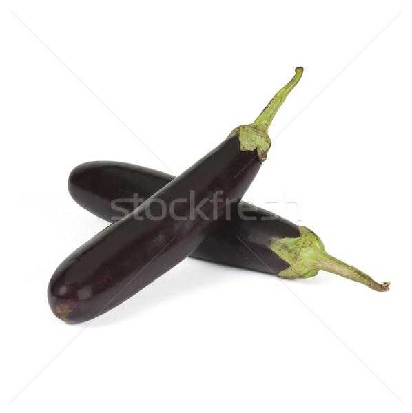 Közelkép kettő zöldség fotózás izolált fehér háttér Stock fotó © imagedb