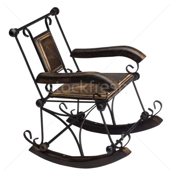 Rocking chair photographie désuet Photo stock © imagedb