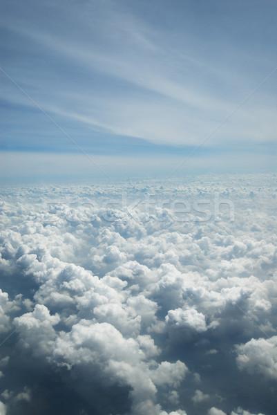 Nuages new delhi Inde ciel photographie Photo stock © imagedb