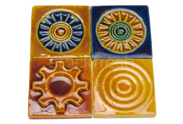 декоративный плитки дизайна искусства плитка Сток-фото © imagedb