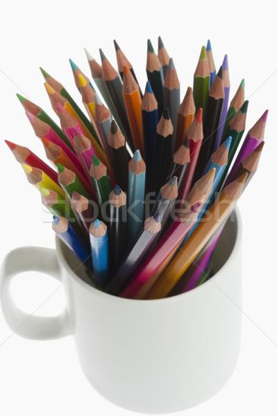 クローズアップ 鉛筆 デスク 主催者 芸術 ストックフォト © imagedb