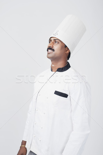 South Indian chef day dreaming Stock photo © imagedb