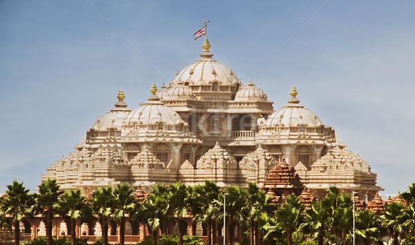 寺 デリー インド デザイン アーキテクチャ ストックフォト © imagedb