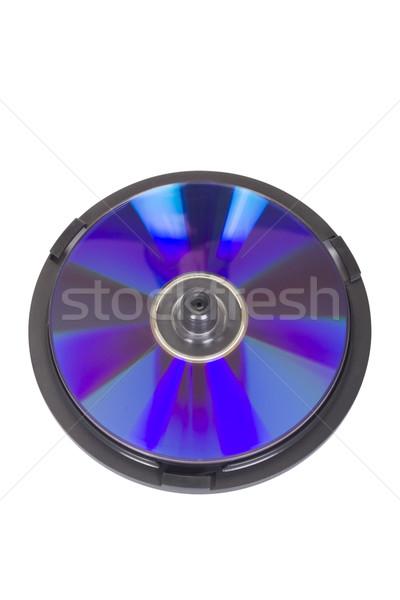 Közelkép CD cd tok technológia műanyag Stock fotó © imagedb