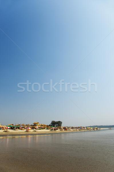 Foto stock: Praia · goa · Índia · água · verão · fotografia