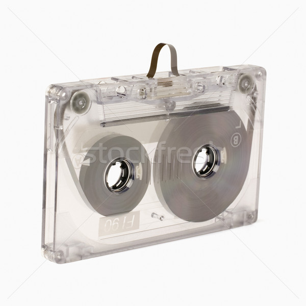 Kassette Band Technologie Kommunikation Multimedia Stock foto © imagedb