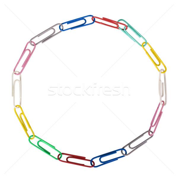 бумаги форма группа пластиковых объекты Сток-фото © imagedb