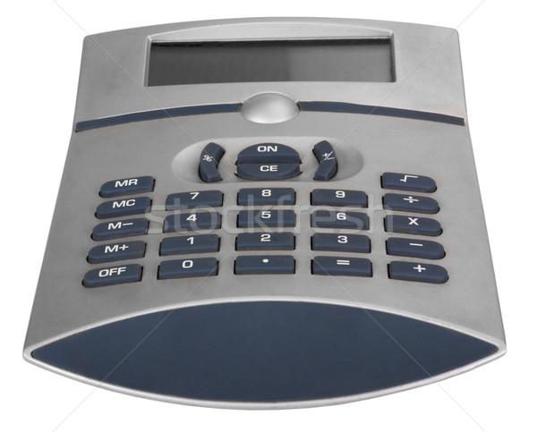 Hesap makinesi iş makine düğme yakın çekim Stok fotoğraf © imagedb
