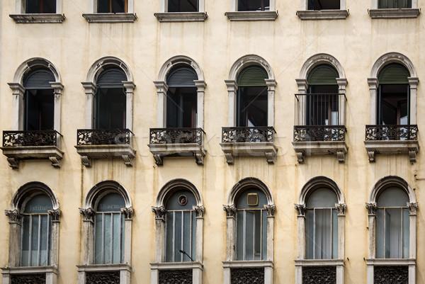 Ver edifício Veneza história fotografia Foto stock © imagedb