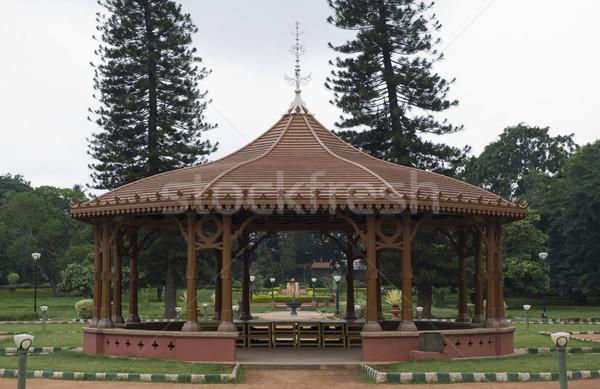 Struttura giardino botanico giardino architettura fotografia India Foto d'archivio © imagedb