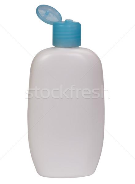 Feuchtigkeitscreme Flasche weiß Gleichgewicht Kosmetik Stock foto © imagedb