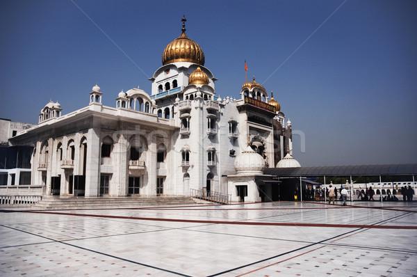 ニューデリー インド グループ アーキテクチャ 宗教 写真 ストックフォト © imagedb