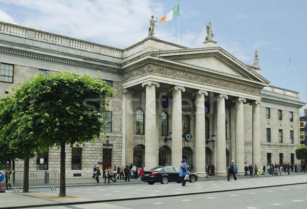 Façade gouvernement bâtiment général bureau de poste rue Photo stock © imagedb