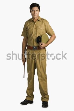 Portret komisarz człowiek fotografii dorosły Zdjęcia stock © imagedb